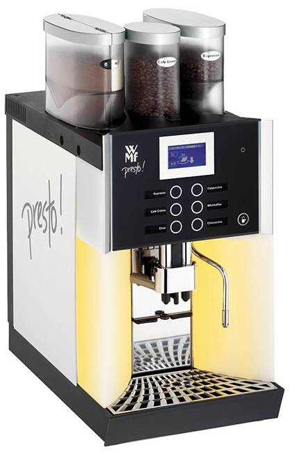 espresso coffee machines    professional range    fully automatic    wmf presto