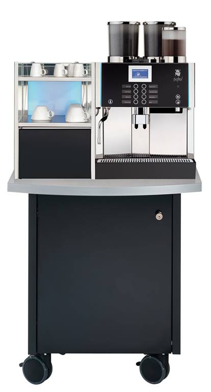 Tiny Craftsman Comes With Espresso Station: Espresso Coffee Machines :: Auxiliary Units :: WMF Mobile